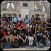 Les élèves de 3e sur le toit du Duomo à Milan